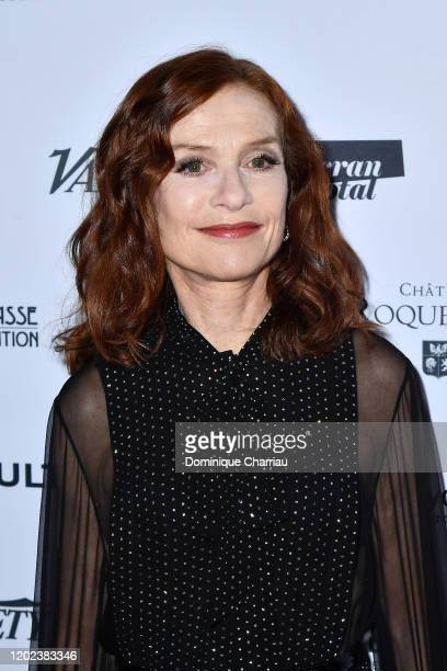 Isabelle huppert attends the 25th Lumieres De La Presse Internationale Ceremony on January 27 2020 in Paris France