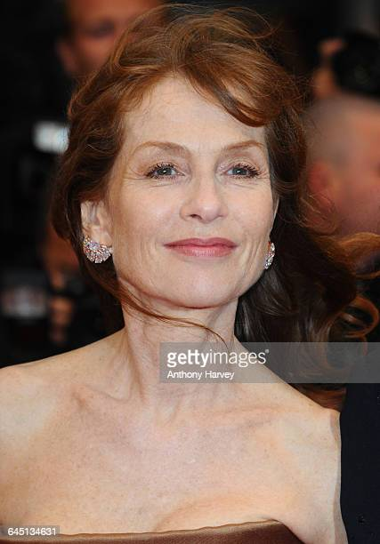 Isabelle Huppert attends the Amour Premiere during the 65th Annual Cannes Film Festival at Palais des Festivals on May 20, 2012 in Cannes, France.