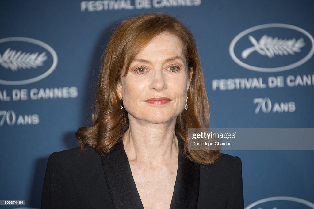 Isabelle Huppert attends the Cannes Film Festival : 70th Anniversary Party at Palais Des Beaux Arts on September 20, 2016 in Paris, France.