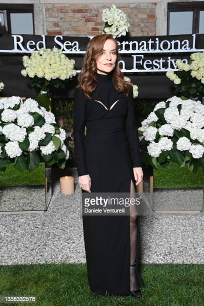 Isabelle Huppert attends the Celebration of Women in Cinema Gala hosted by The Red Sea Film Festival during the 78th Venice International Film...