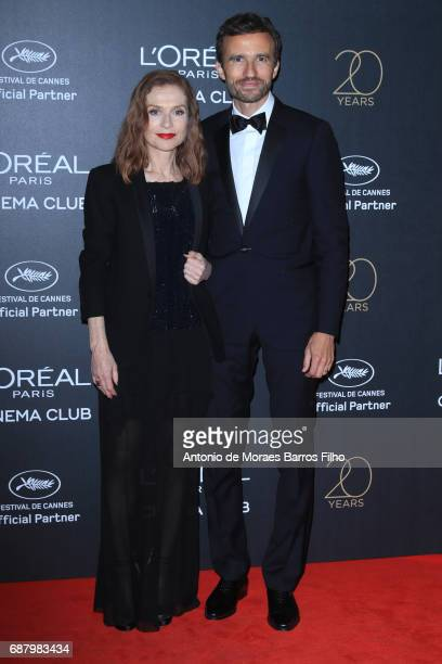 Isabelle Huppert attends the Gala 20th Birthday Of L'Oreal In Cannes during the 70th annual Cannes Film Festival at Hotel Martinez on May 24 2017 in...