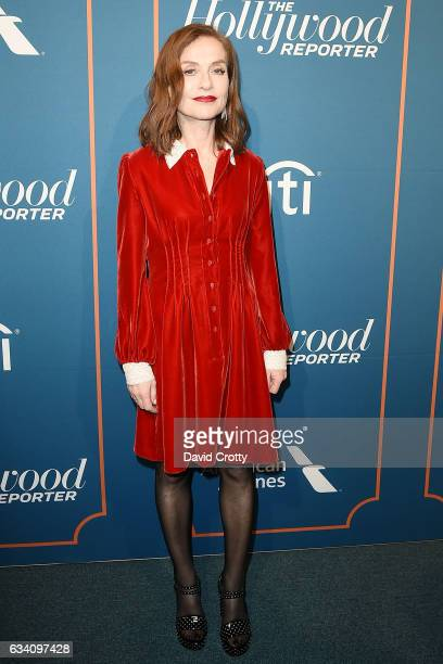 Isabelle Huppert attends The Hollywood Reporter 5th Annual Nominees Night Arrivals at Spago on February 6 2017 in Beverly Hills California