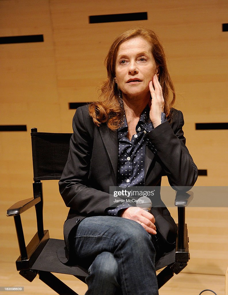 Isabelle Huppert attends the Isabelle Huppert, 'Abuse Of Weakness' panel during the 51st New York Film Festival at Elinor Bunin Munroe Film Center on October 7, 2013 in New York City.