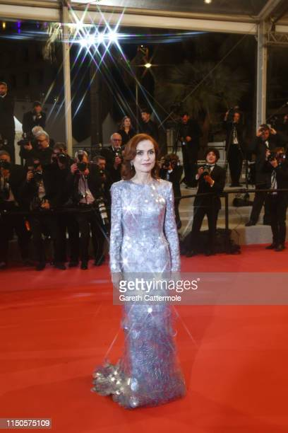 Isabelle Huppert attends the screening of Frankie during the 72nd annual Cannes Film Festival on May 20 2019 in Cannes France