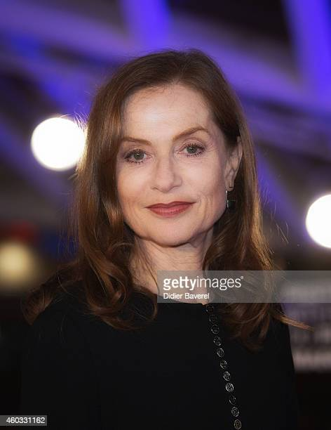 Isabelle Huppert attends the Timbuktu Premiere and moroccans producers Khadija Alami and Zakaria Alaoui Tribute during the 14th Marrakech...