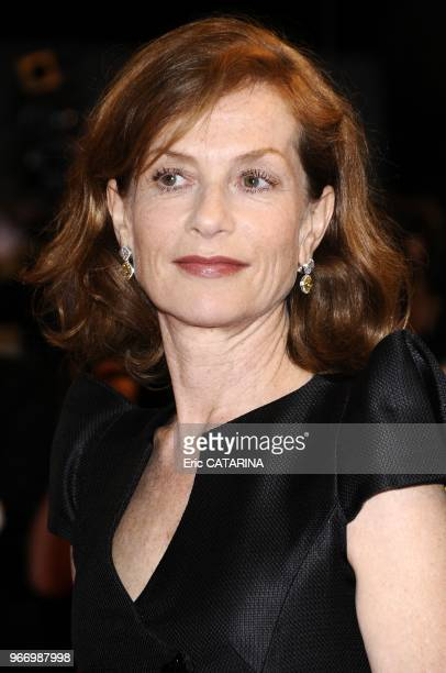 Isabelle Huppert attends the Vincere Premiere