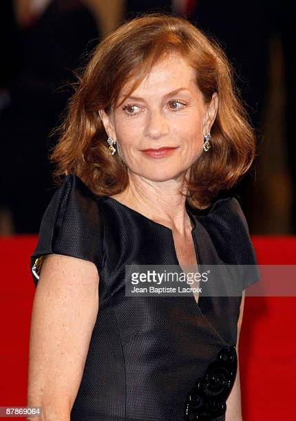 Isabelle Huppert attends the 'Vincere' Press Conference held at the Palais Des Festivals during the 62nd International Cannes Film Festival on May 19...