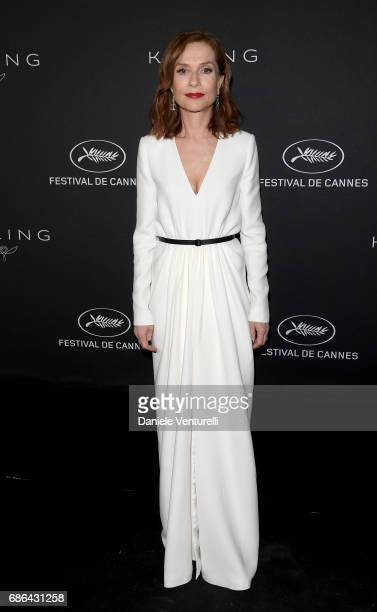 Isabelle Huppert attends the Women in Motion Awards Dinner at the 70th Cannes Film Festival at Place de la Castre on May 21, 2017 in Cannes, France.