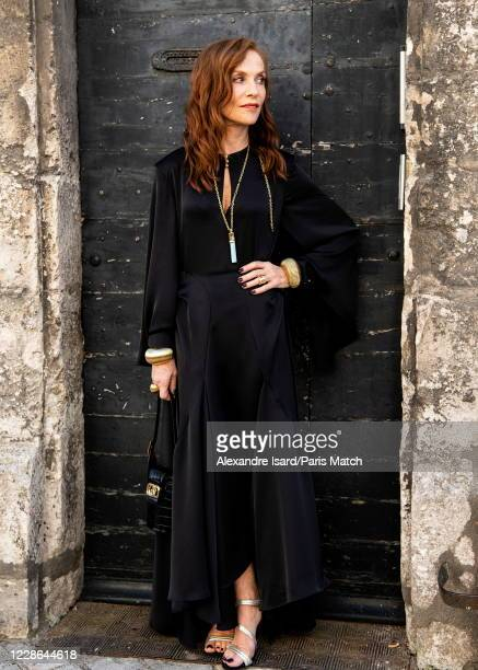 Isabelle Huppert is photographed for Paris Match at the 13th Francophone Film Festival of Angouleme on August 30 in Angouleme, France.