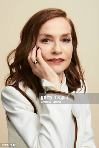 Isabelle Huppert poses for a portrait session at the 2017 Film Independent Spirit Awards on February 25 2017 in Santa Monica Califor ania