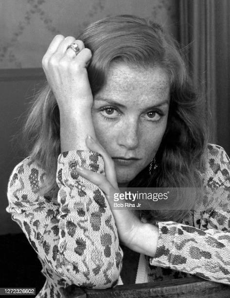Isabelle Huppert, September 5, 1986 in Los Angeles, California.
