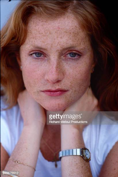 Isabelle Huppert who star in director Michael Cimino's 1980 film 'Heaven's Gate' in Cannes 20th May 1981