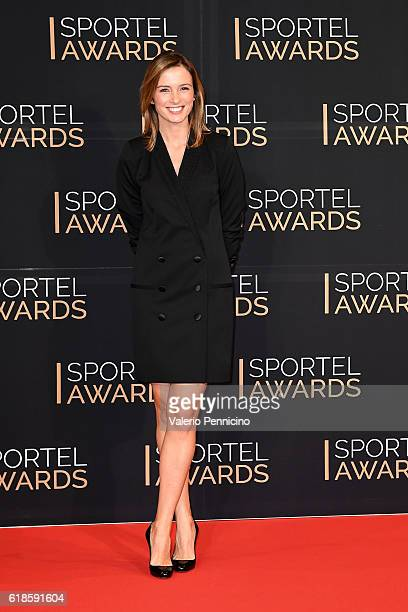 Isabelle Ithurburu attends during the SPORTEL Monaco 2016 Day Two at Grimaldi Forum on October 25 2016 in MonteCarlo Monaco