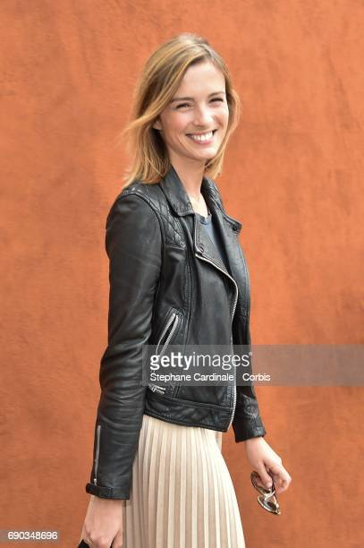 Isabelle Ithurburu attends the 2017 French Tennis Open Day Three at Roland Garros on May 30 2017 in Paris France
