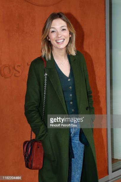 Isabelle Ithurburu attends the 2019 French Tennis Open - Day Three at Roland Garros on May 28, 2019 in Paris, France.