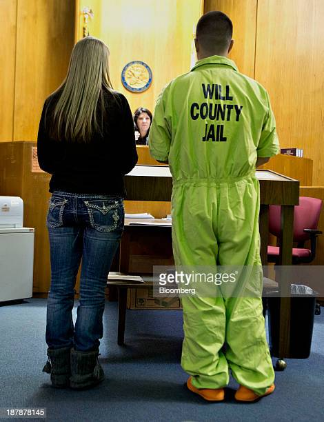 Isabelle Izzy Triezenberg a recovering heroin addict nearly completed with the Will County Drug Court rehabilitation program left and her brother...