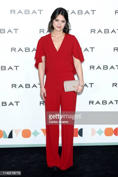 Isabelle Junot attends Rabat's Jewelry new collection presentation at Bless Hotel on April 03 2019 in Madrid Spain