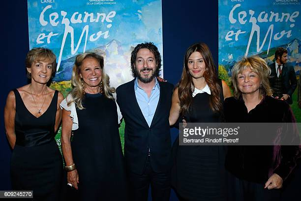 Isabelle Juppe Miss Roland Pozzo di Borgo actors of the movie Guillaume Gallienne Alice Pol and Director of the movie Daniele Thompson attend the...