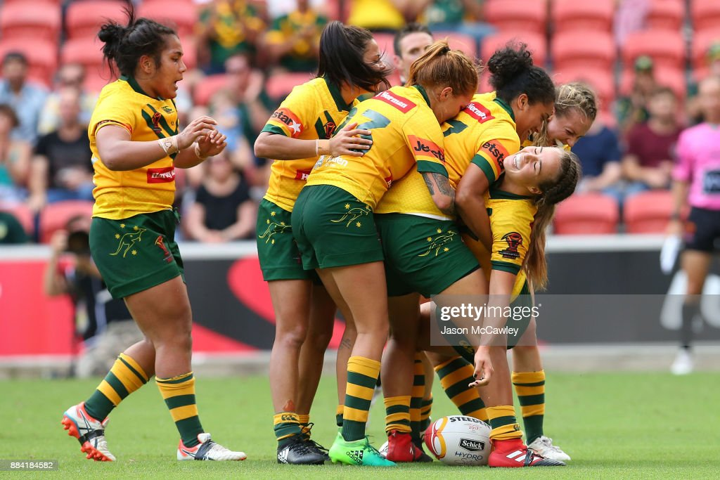 2017 Rugby League Women's World Cup Final - Australia v New Zealand : News Photo