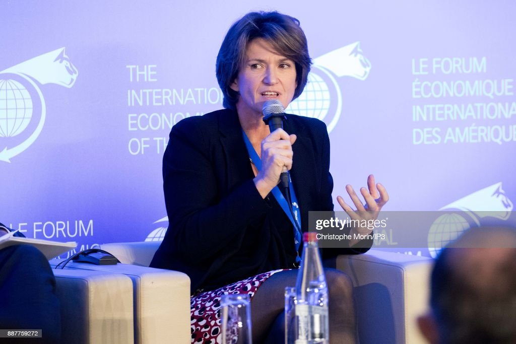 Isabelle Kocher CEO, ENGIE attends the first edition of the Conference of Paris of the International Economic Forum of the Americas, in Paris, on December 7, 2017 in Paris, France. IEFA organizes annual summits bringing together heads of states, central bank governors, ministers and global economic decision makers. This annual meeting focus on providing a better understanding of the major challenges facing the global economy, with particular attention to relations between Europe and other continents.