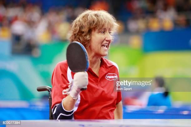 Isabelle LAFAYE Tennis de Table Jeux Paralympiques de Pekin 2008