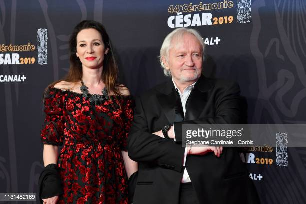 Isabelle Le Nouvel and Niels Arestrup attend the Cesar Film Awards 2019 the Cesar Film Awards 2019 at Salle Pleyel on February 22 2019 in Paris France