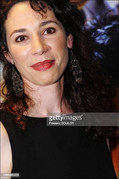 Isabelle Le Nouvel at 'Le Candidat' premiere in Paris France on April 10 2007