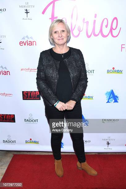 Isabelle Leroux attends the URBAN2020 Fabrice Spies Benefiting STOP Trafficking of People on December 13 2018 in Los Angeles California