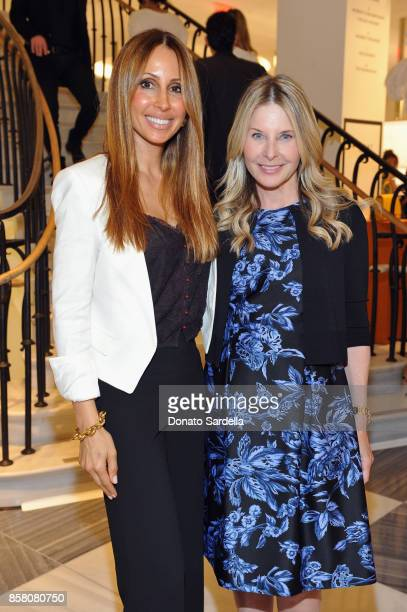 Isabelle Madison and HOLA Chair Committee Lynn Rosenthal attend a Cocktail Event in support of HOLA Heart of Los Angeles hosted by Barneys New York...
