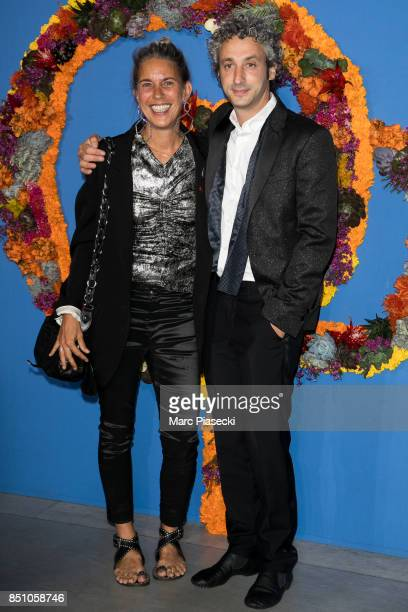 Isabelle Marant and Jerome Dreyfuss attend the Opening Season gala at Opera Garnier on September 21 2017 in Paris France
