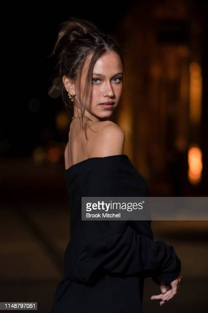 Isabelle Mathers attends the Angels by Russell James Australian Book Launch during MercedesBenz Fashion Week Resort 20 Collections at Carriageworks...