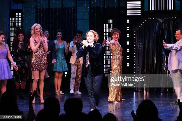 Isabelle Mccalla Angie Schworer Beth Leavel Caitlin Kinnunen Brooks Ashmanskas during the Broadway Opening Night Curtain Call of 'The Prom' at The...