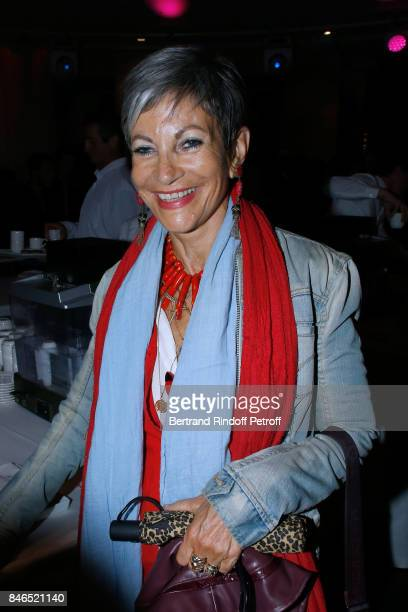 Isabelle MoriniBosc attends the RTL RTL2 Fun Radio Press Conference to announce their TV Schedule for 2017/2018 at Elysee Biarritz at Cinema Elysee...