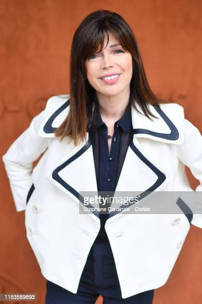Isabelle Morizet attend the 2019 French Tennis Open Day Eight at Roland Garros on June 03 2019 in Paris France