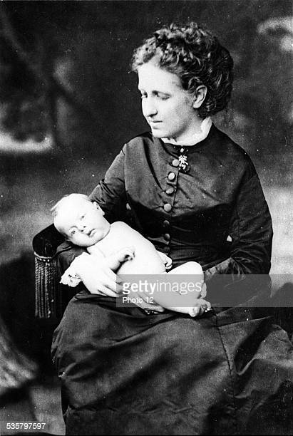 Isabelle of Braganza holding Prince Pierre of OrléansBragance Isabelle of Braganza Imperial Princess of Brazil daughter of Pedro II Emperor of Brazil...