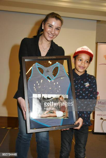 Isabelle Severino attends 'Un Maillot Pour La vie' Children Care Association Auction Gala Dinner at Hotel Marriott on March 15 2018 in Paris France