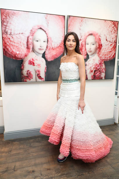 """GBR: """"The Camouflaged Beauty Of Fashion"""" By Isabelle Van Zeijl At The Cynthia Corbett Gallery - Photocall"""
