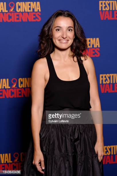 Isabelle Vitari attends the closing ceremony photocall the Valenciennes Film Festival - Day Five on September 28, 2021 in Valenciennes, France.