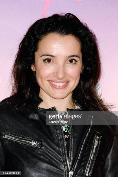 Isabelle Vitari attends The Les Crevettes Paillettees Premiere At Cinema Le Grand Rex on April 16 2019 in Paris France