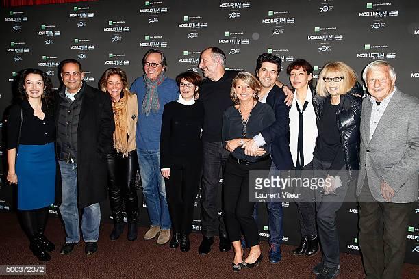 Isabelle Vitari, Laurent Fontaine, Valerie Douillet, Philippe Lavil, Guest, Sam Karmann, guest, Bruno Madinier, Julie Debazac, Mireille Darc and...