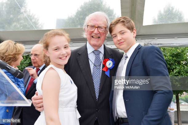 Isabelle von Perfall William vanden Heuvel and Felix von Perfall attend the Franklin D Roosevelt Four Freedoms Park's gala honoring Founder...