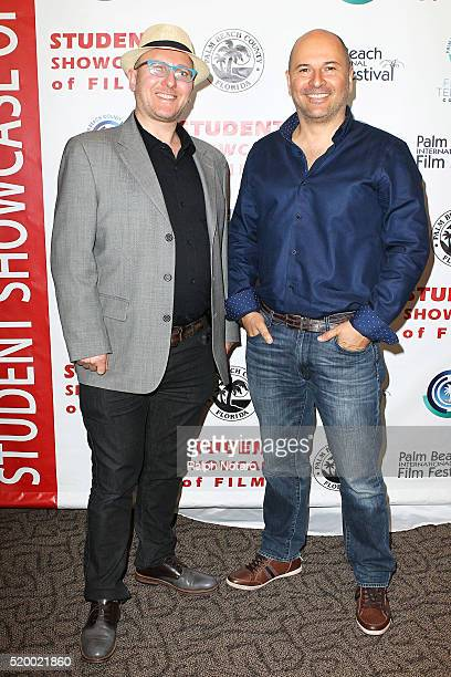 Isac Broyn and Eli Hershko attend Palm Beach International Film Festival 2016 Filmmakers Meet And Greet on April 7 2016 in Manalapan Florida
