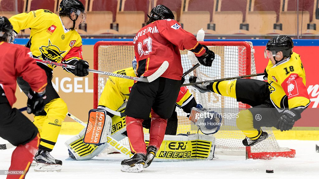 Lulea Hockey v SaiPa Lappeenranta - Champions Hockey League : News Photo