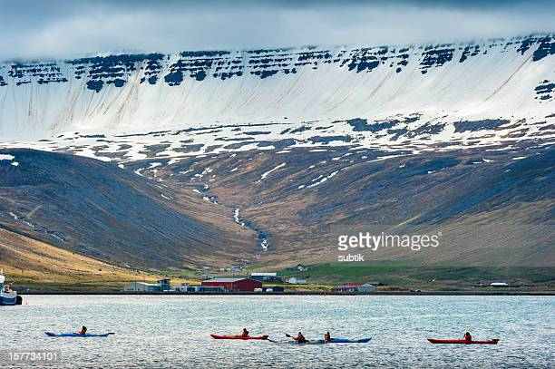 isafjördur, iceland - westfjords iceland stock photos and pictures