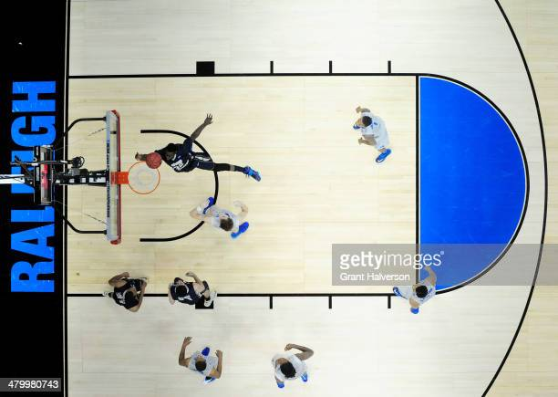 Isaiah Armwood of the George Washington Colonials shoots against the Memphis Tigers in the second half during the Second Round of the 2014 NCAA...