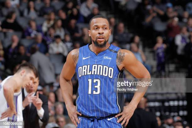 Isaiah Briscoe of the Orlando Magic looks on during the game against the Sacramento Kings on January 7 2019 at Golden 1 Center in Sacramento...