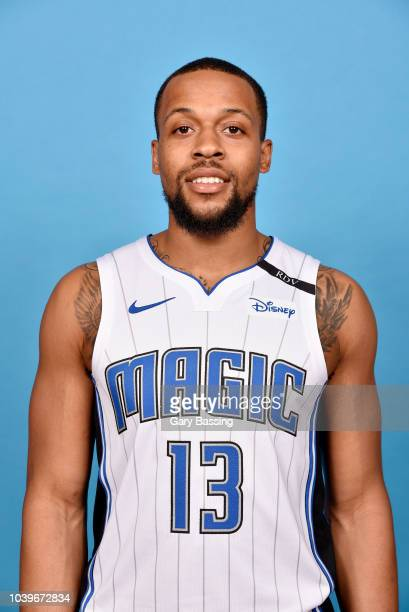 Isaiah Briscoe of the Orlando Magic poses for a head shot during NBA Media Day on September 24 2018 at Amway Center in Orlando Florida NOTE TO USER...