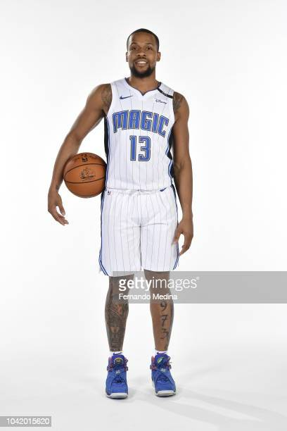 Isaiah Briscoe of the Orlando Magic poses for a portrait during NBA Media Day on September 24 2018 at Amway Center in Orlando Florida NOTE TO USER...