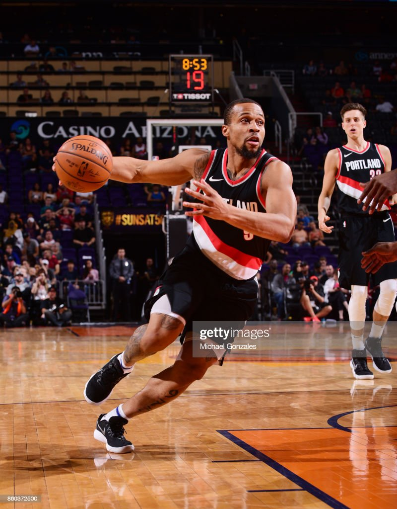 Portland Trail Blazers v Phoenix Suns : News Photo