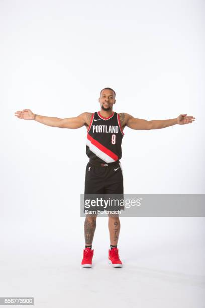 Isaiah Briscoe of the Portland Trail Blazers poses for a portrait during the 201718 NBA Media Day on September 25 2015 at the Moda Center in Portland...